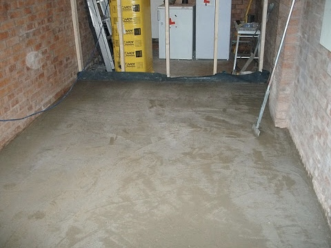 Screed floor